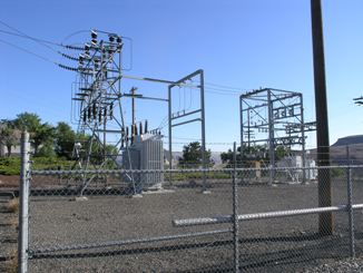 PacifiCorp substation near Arlington