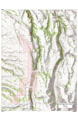 West Ridge Project Site Map
